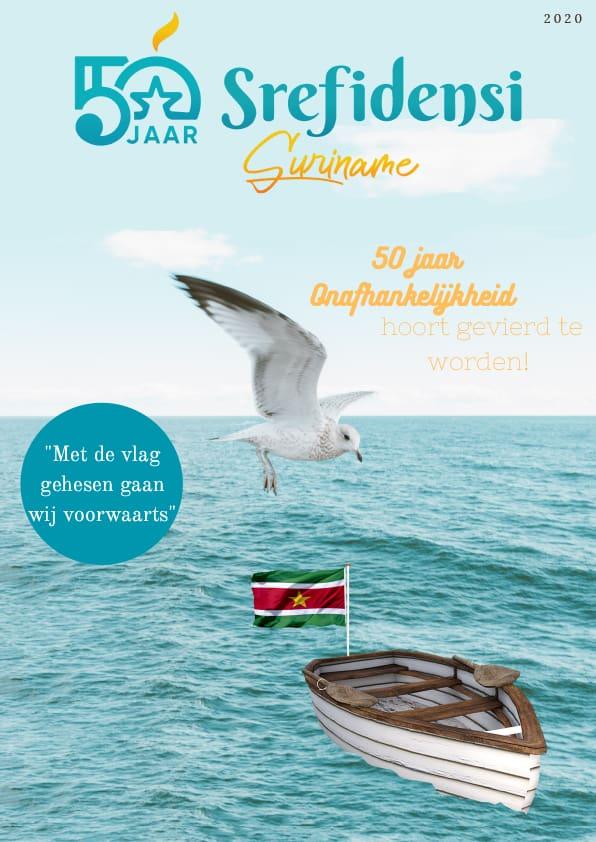 50 jaar srefidensi Magazine